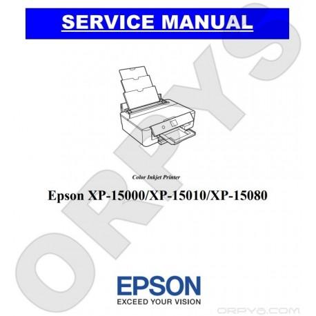Epson XP-15000, XP-15010, XP-15080 Service Manual