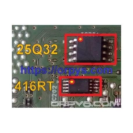 Canon G2400 Dumps 25Q32 и 416RT (bin file)