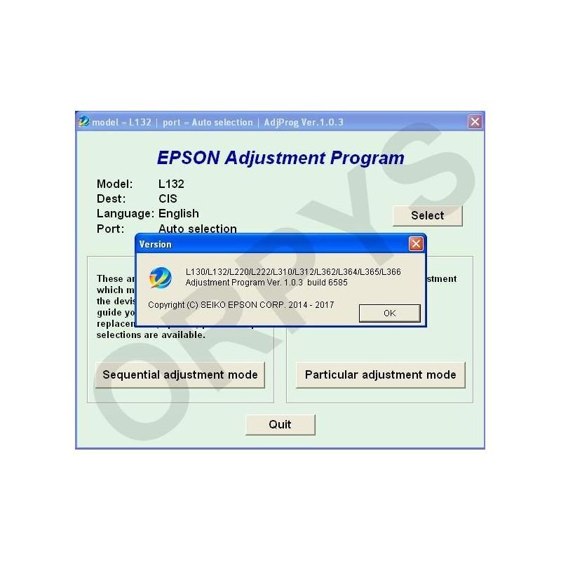 Epson adjustment program download