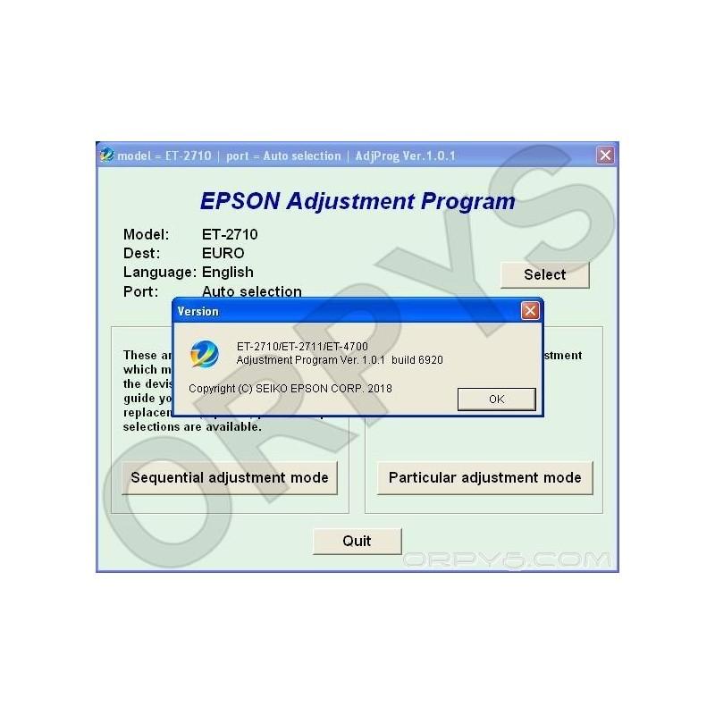 ADJUSTMENT PROGRAM EPSON SX235W СКАЧАТЬ БЕСПЛАТНО