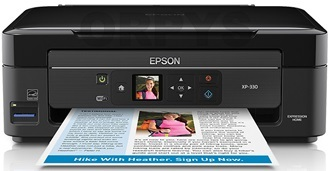 Epson Expression Home XP-330 драйвера (drivers) скачать
